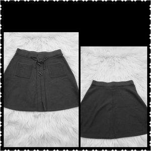 Candies Mini skirt black womans small